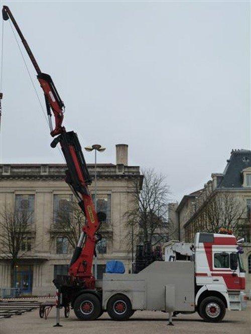 Ville de Nancy - Montage de la Foire