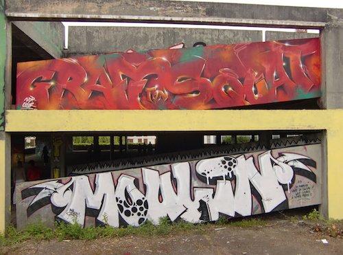 Ville de Nancy - Graf ton squat organisé par AT 33