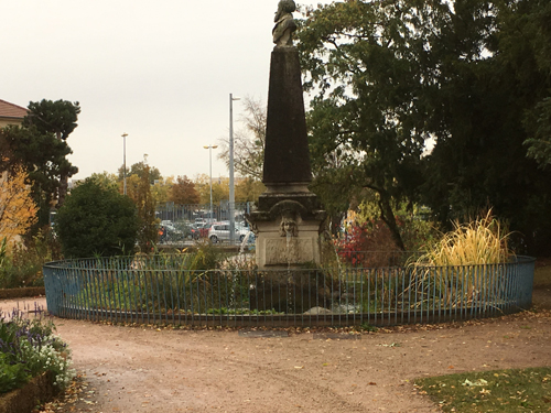 Ville de Nancy - Jardin Dominique Alexandre Godron