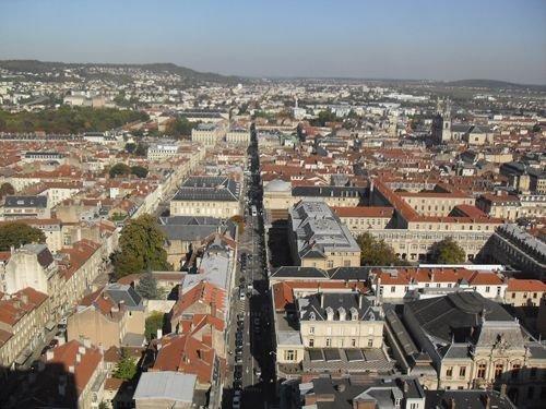 Ville de Nancy Vue panoramique depuis la tour Thiers