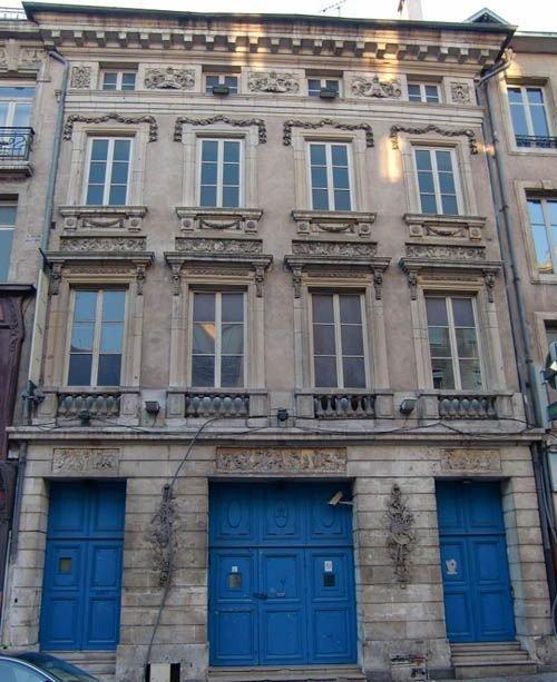 Ville de Nancy Ancien Café des Anges