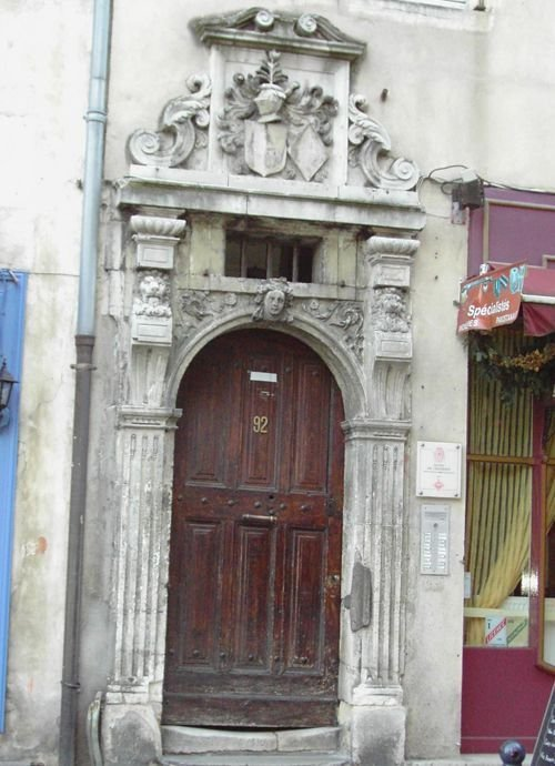 Ville de Nancy - Hôtel Chastenoy