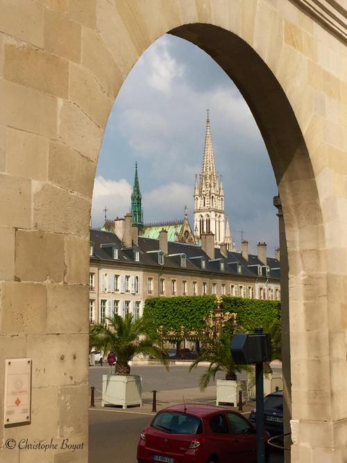 Ville de Nancy - Vue sur St Epvre