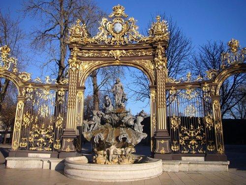 Ville de Nancy - Les grilles de la place Stanislas