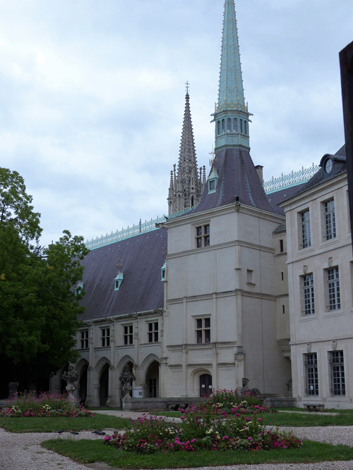 Ville de Nancy - Cour du musée Lorrain