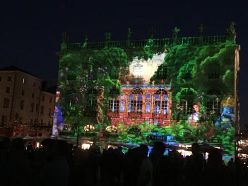 Ville de Nancy - Un peu de vert Place Stanislas