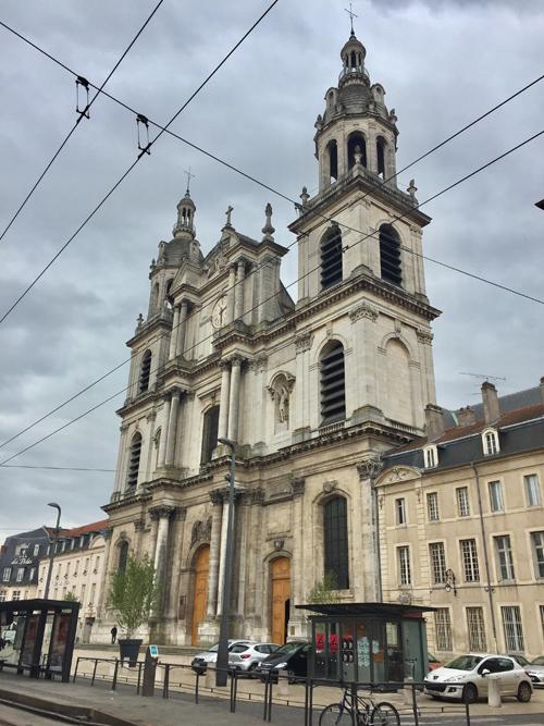 Ville de Nancy - Cathédrale Rue St Georges