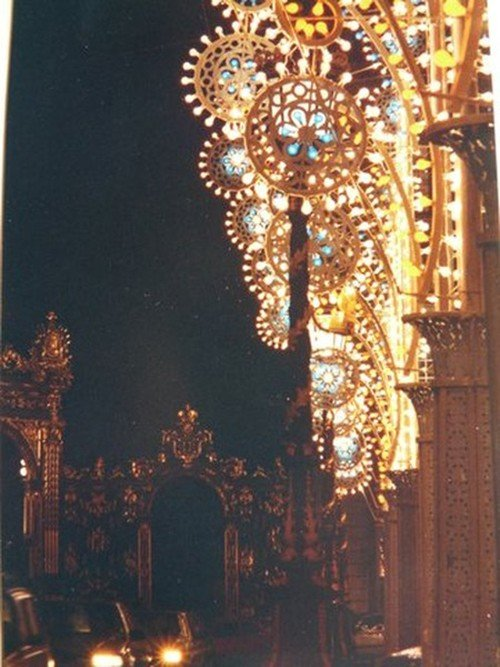 Ville de Nancy - Décorations de la Place Stanislas en 1990