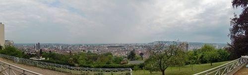 Ville de Nancy - Vue du parc de la Cure d'Air