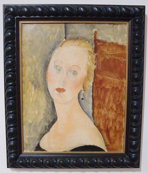 Ville de Nancy - Musée des Beaux-Arts - Amedeo Modigliani - 1915