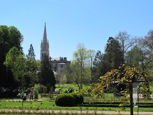 Ville de Nancy - St Epvre depuis la Pépinière