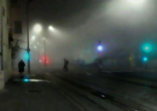 Ville de Nancy - Nancy dans le brouillard