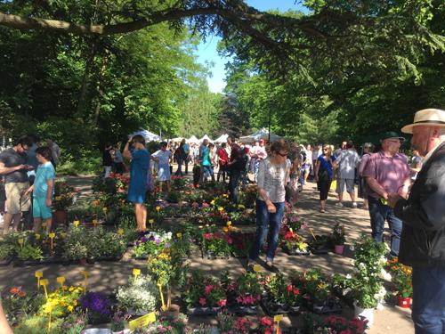 Ville de Nancy - Nature en fête parc Sainte Marie