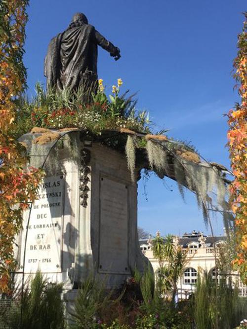 Ville de Nancy - Souvenir du jardin ephémère 2017