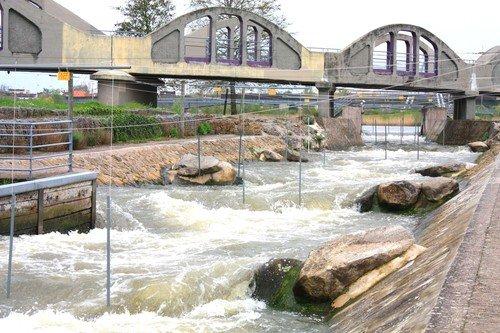 Ville de Nancy - Parcours de Canoë sur la Meurthe