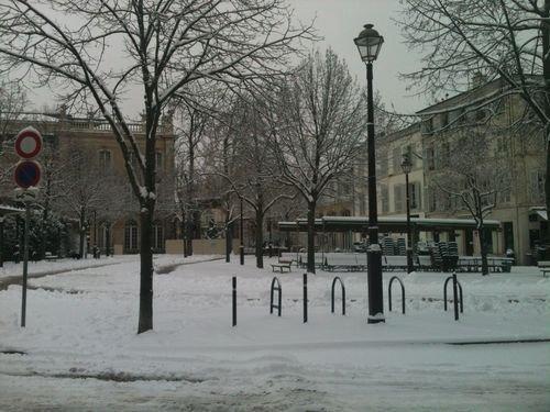 Ville de Nancy - Nancy sous la neige