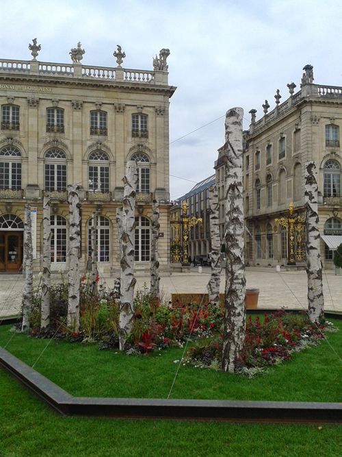 Ville de Nancy - Souvenir du jardin ephémère 2013