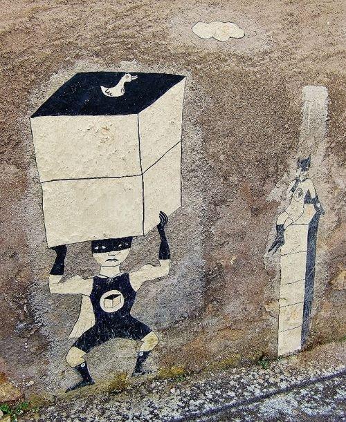 Ville de Nancy - Street art par M et Mme