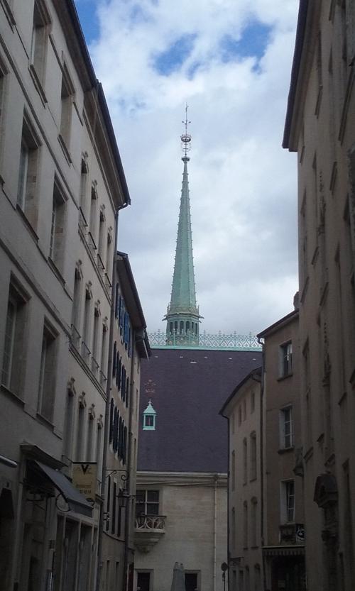 Ville de Nancy - Flèche du musée Lorrain