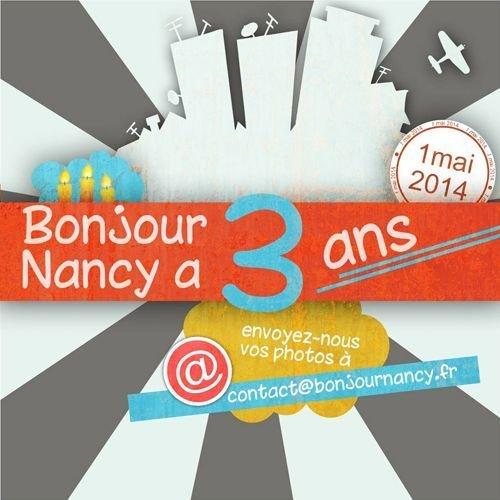 Ville de Nancy - Bonjour nancy fête ses 3 ans !