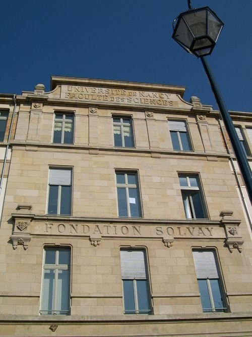 Ville de Nancy Fondation Solvay