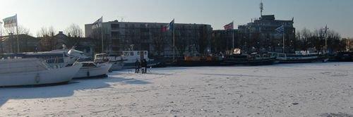 Ville de Nancy - Canal sous les glaces