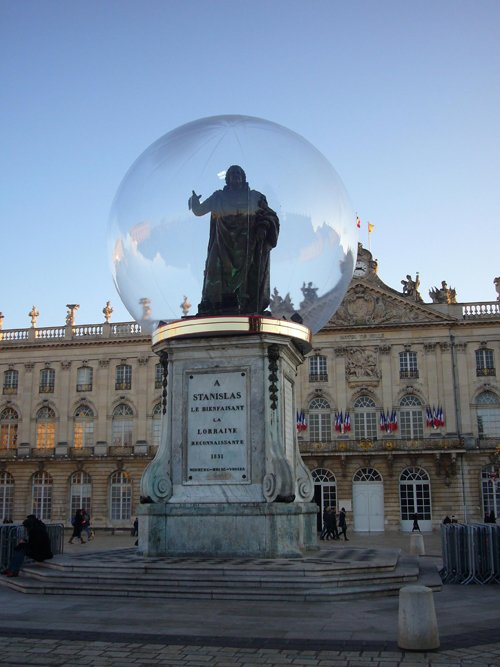 Ville de Nancy - Stanislas sous la bulle