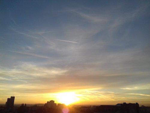 Ville de Nancy - Levé de soleil
