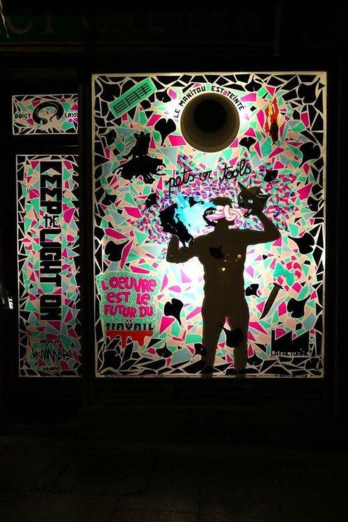 Ville de Nancy - La Factorine, KEEP THE LIGHT ON