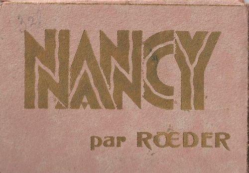 Ville de Nancy par Roeder