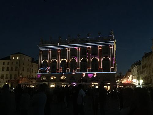Ville de Nancy - Sons et lumières Place Stanislas
