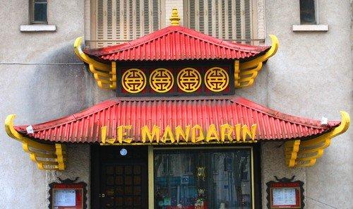 Ville de Nancy - Le Mandarin, Place de la Croix de Bourgogne