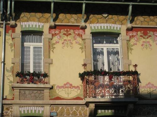 Ville de Nancy - Maison art nouveau