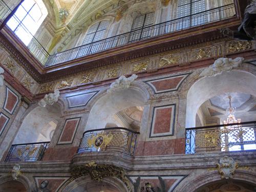Ville de Nancy - intérieur de l'Eglise de Bonsecours