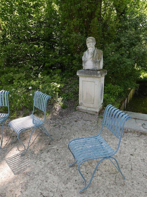 Ville de Nancy - Buste de Louis Majorelle