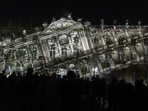 Ville de Nancy - Facade penchée des rdv Place Stanislas