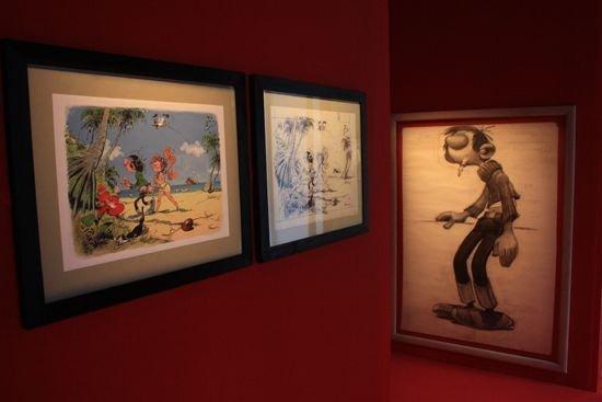 JD² en images - Expo André Franquin - Centre Wallonie Bruxelles