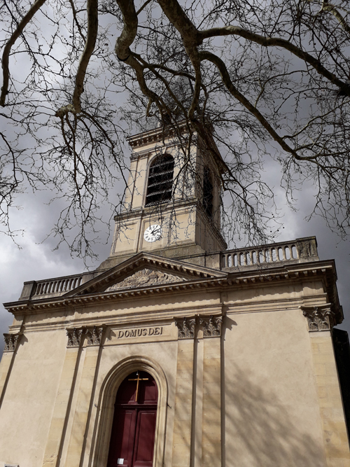 Ville de Nancy - Le clocher Saint-Georges