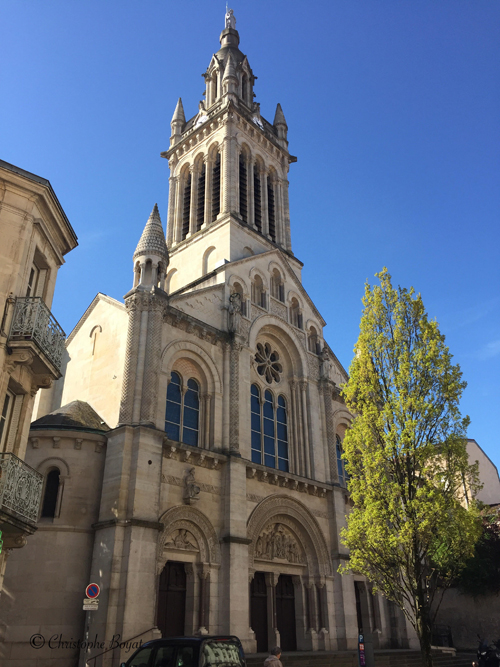 Ville de Nancy - Eglise rue du Mont Desert