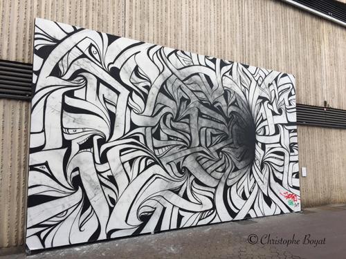 Ville de Nancy - Le Mur
