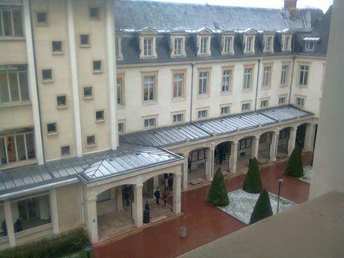 Ville de Nancy - intérieur de la fac de droit