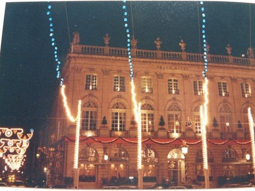 Ville de Nancy - Décorations de la Place Stanislas en 1990