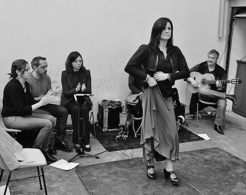 Ville de Nancy - Ouverture d'ateliers d'artistes : le Labo DTF fait du Flamenco