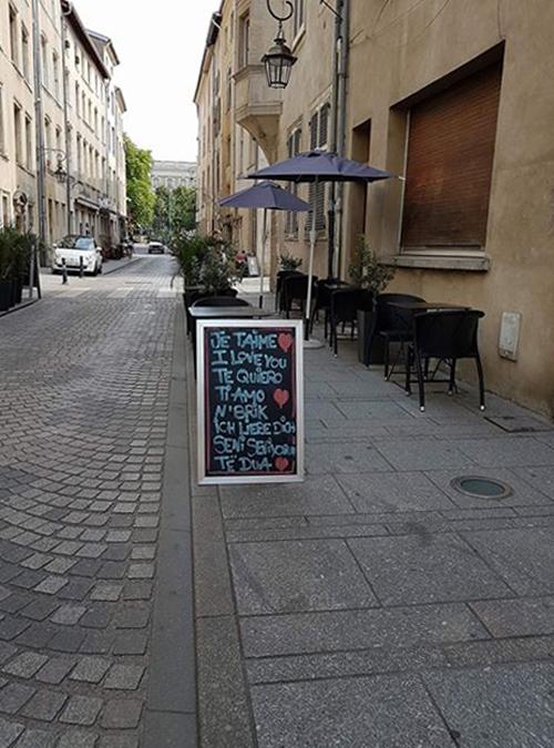 Ville de Nancy - Amour rue Pierre Grégoire