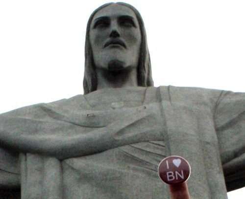 Ville de Nancy - badge Story à Rio de Janeiro