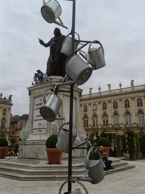 Ville de Nancy - Stanislas et les arrosoirs #Souvenirs