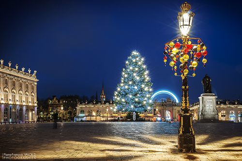 Ville de Nancy - Place Stanislas en hiver
