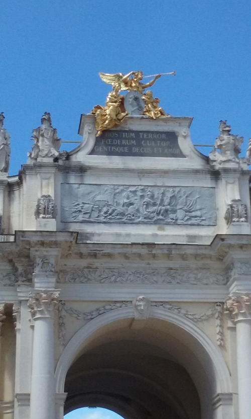 Ville de Nancy - Détail porte Héré