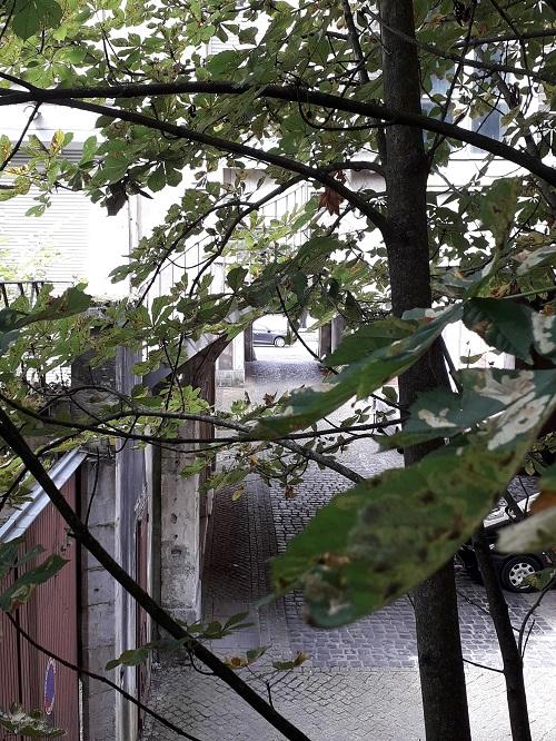 Ville de Nancy - Entrée rue des Écuries