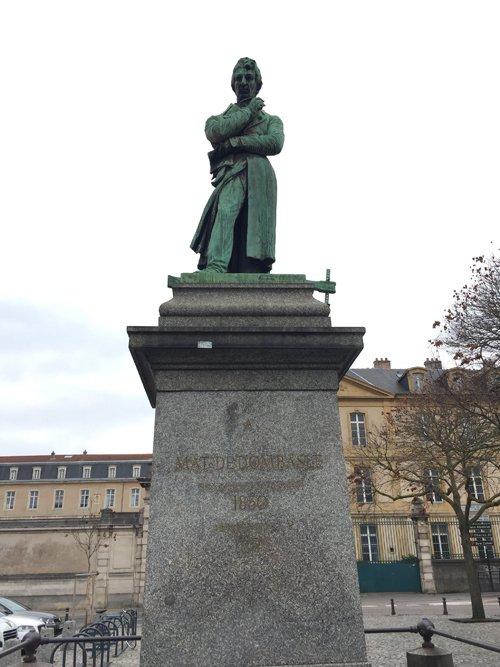 Ville de Nancy - Statue de Dombasle
